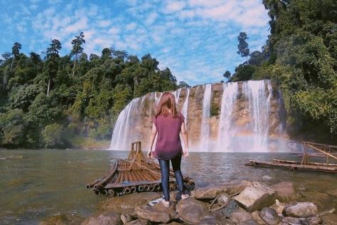 Rainbow at Tinuy-an Falls`