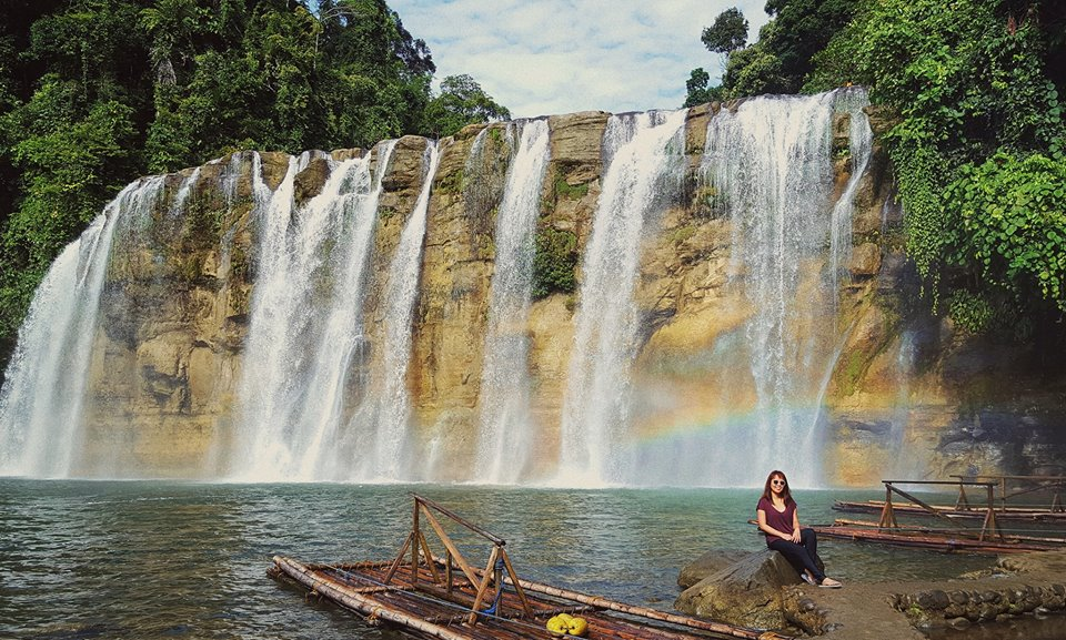 Rainbow at Tinuy-an Falls