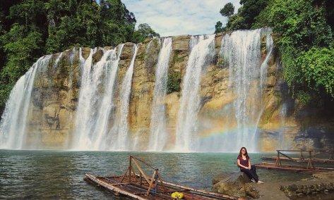 Rainbow at Tinuy-an Falls